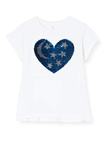 ZIPPY Camiseta de niña SS20, White, 11/12 para Niñas