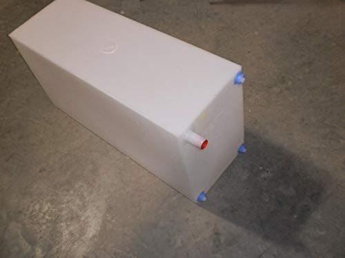 LaVanture Products R and P Carriages 30 Gallon Fresh/Grey Water Tank for RVs, Food Trucks 34.5' x 17.5' x 12' (30 Gallon)