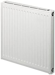 Radiador calefactor central Horizontal con potencia 1298 W Gama Samba 33 HB, modelo 15 elementos, color marrón