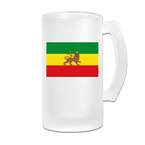 Impero etiope - Resistente boccale di birra con bicchieri anti-pinta Bicchieri da birra