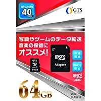 GTS microSDXCカード GTS GSMS064PAD [64GB /Class10]