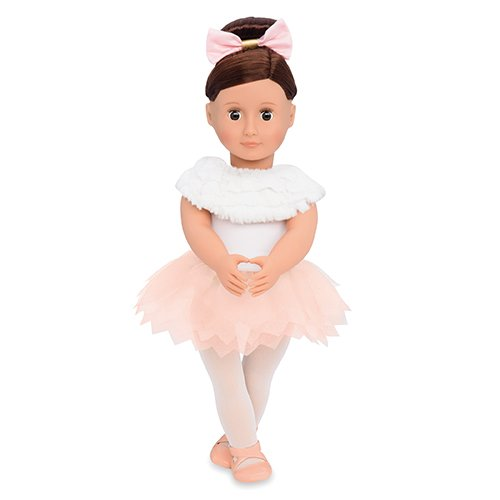 Our Generation Doll by Battat- Valencia 18' Regular Non Posable Ballerina Fashion Doll- for Ages 3 & Up