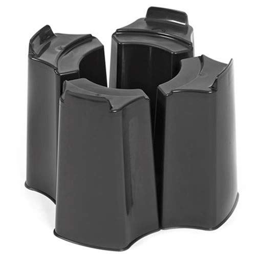 Original Organics Black 4 Piece Adjustable Water Butt Stand - Fits Various Water Butts