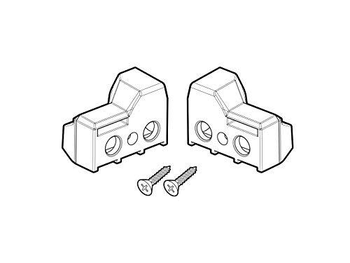 SHAD - D1B23FIR/214 : Recambio soportes maletas laterales SH23