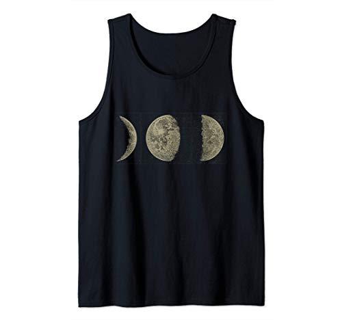 Fases lunares Ciclos de las fases lunares Astronomía Camiseta sin Mangas