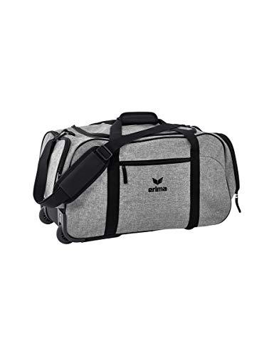 Erima Travel Line Rollentasche, Grau Melange/Sc, 65