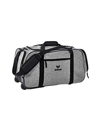 ERIMA Travel Line koffer, 65 cm, 80 liter, grijs melange/zwart