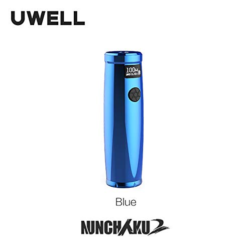 El modelo Nunchaku 2 de UWELL soporta 18650/20700/21700 baterías aptas para el Nunchaku 2 Tank E-cigarrillo Vape Mod.