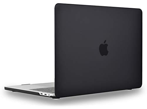 UESWILL MacBook Pro 13 inch Case 2020 2019 2018 2017 2016 Release A2338 A2289 A2251 A2159 A1989 A1706 A1708, Matte Hard Shell Case Cover for MacBook Pro 13 inch with USB-C Touch Bar, Black