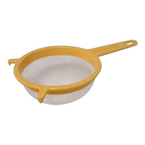 Passiersieb mit Halterung Ø 18 cm pastell-gelb aus Kunststoff, Sieb, Küchensieb, Seiher, Brüher