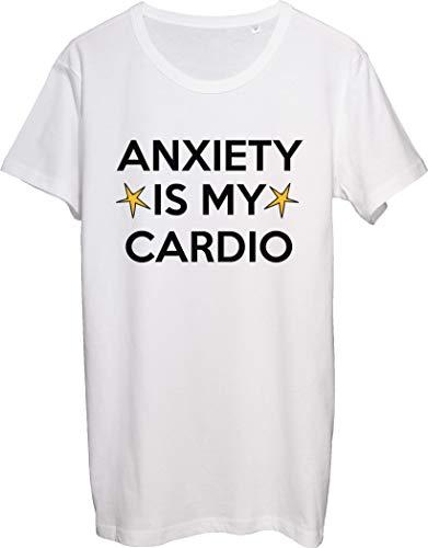 Anxiety is My Cardio - Camiseta para hombre