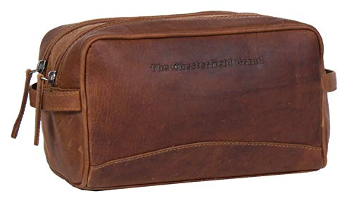 The Chesterfield Brand Stefan Toilet Bag Cognac