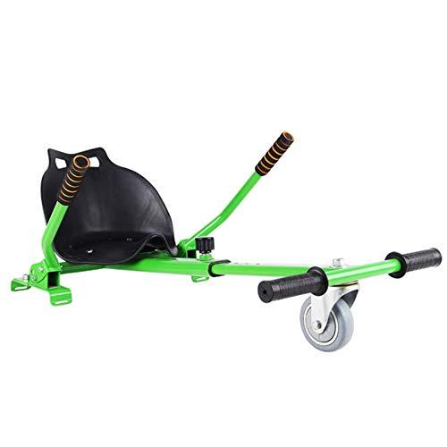 YAHAO Silla para Hoverboard,Electrico Hover Kart Ajustable para Patinete Eléctrico Asiento Kart...