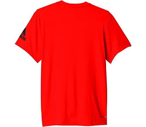 adidas Lifter GFX Tee–Shirt für Herren S Orange (narfue)