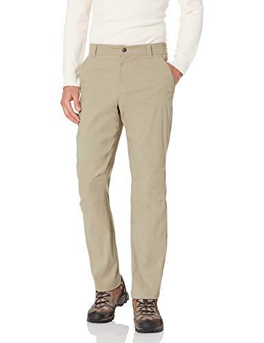 Columbia Royce Peak Pantalon de Soleil imperméable et Respirant pour Homme, Homme, AM8678, Ivoire, 38W / 34L