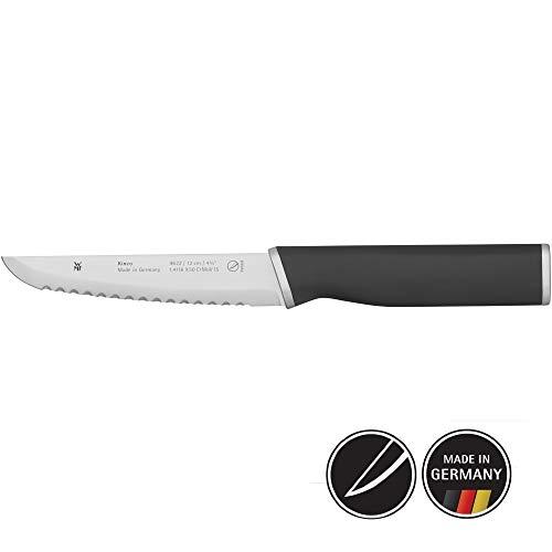WMF Kineo Allzweckmesser Wellenschliff 24 cm, Schälmesser, Spezialklingenstahl, Messer geschmiedet, Performance Cut, Klinge 12 cm