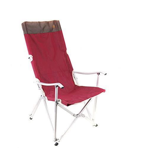 YYDD plegable silla de césped reclinable silla de gravedad silla de ocio silla reclinable lateral cómoda suave comodidad balcón playa pesca camping