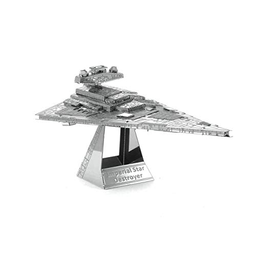 3D Fascinations Metal Earth Puzzle - Star Wars Imperial Star Destroyer - DIY 3D Model Kit / Metal Jigsaw Puzzle