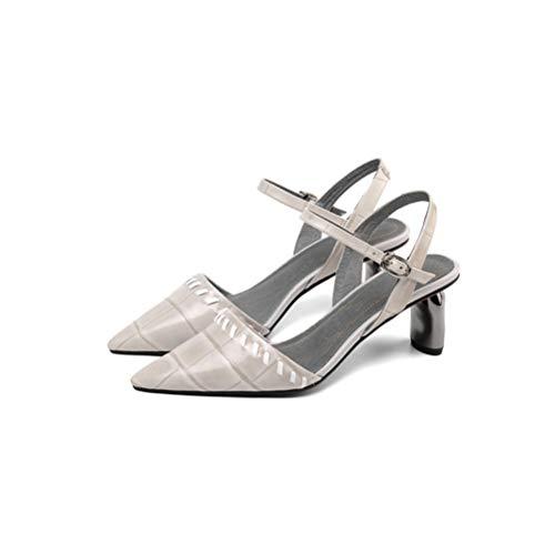 Schuhe Frau High Heels Schnalle Prom Court Schuhe Echtes Leder Damen Hochzeit Schuhe Schuhe Schuhe