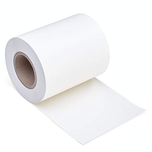 IHD PVC Sichtschutz Streifen 35m Länge Zaunblende Folie Doppelstabmatten Zaun Zaunfolie Weiß