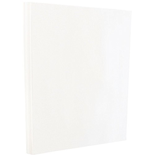 JAM PAPER Glossy Paper - 215.9 x 279.4 mm - 120gsm 2-Sided White - 100/Pack