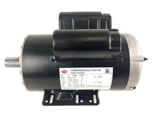 5 HP 3450 RPM, 56 Frame, 230V, 22Amp, 7/8