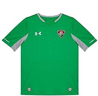 Camisa Under Armour Fluminense Goleiro 2018 Juvenil Verde