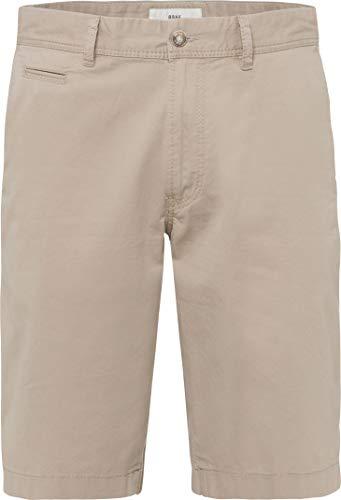BRAX Herren Style Bari Bermuda Chino Straight Leg Shorts, Beige, 36W / 34L