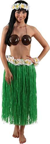 Faschingszubehör Hawaii Kokosnuss-BH