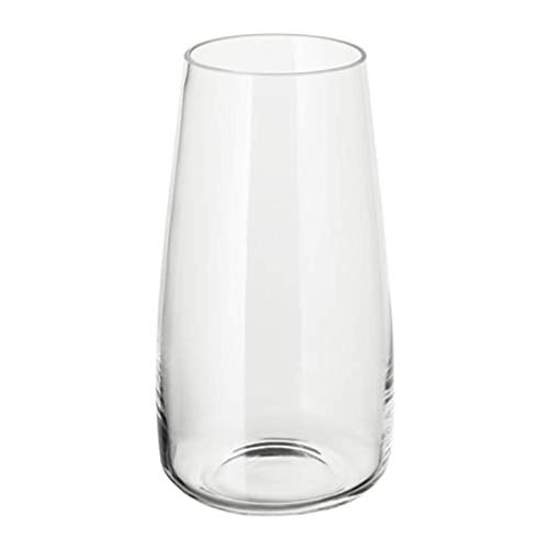 "IKEA Berakna Vase Clear Glass 204.062.97 Size 11 ¾"""