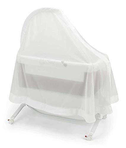 CAM Betthimmel Für das Beistellbett Cullami von CAM | weitläufiger Schleier | Schützt vor Luftzug und Insekten | Leicht waschbar