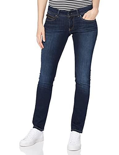 Pepe Jeans Damen Jeans New Brooke W, 10Oz Stretch Ultra Dk, 29W / 32L