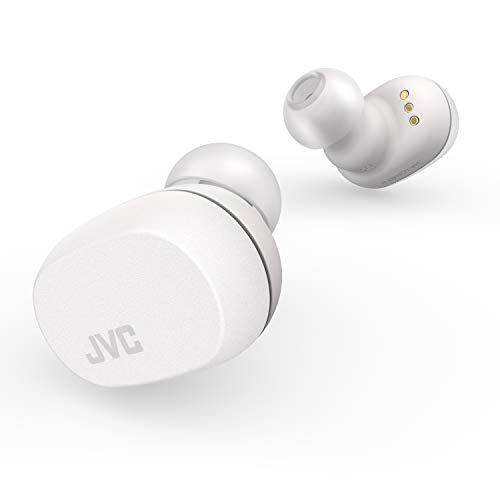 JVCHA-LC50BTN_Wシリーズ完全ワイヤレスイヤホンBluetooth対応/小型軽量ボディ/最大16.5時間再生ストーンホワイトHA-LC50BT-W