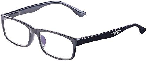 infactory Blaulicht Blocker Brille: Augenschonende Bildschirm-Brille mit Blaulicht-Filter, 2,5 Dioptrien (Bildschirmbrillen)