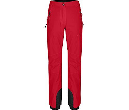 Bergson Damen Skihose Ice Light (Slim fit), Chinese red [104], 40 - Damen