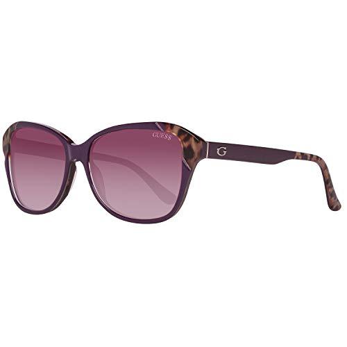 Guess Sonnenbrille Gu7510 81Z-55-15-140 Gafas de sol, Morado (Violeta), 55.0 para Mujer
