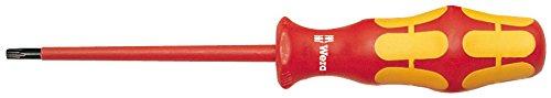 Preisvergleich Produktbild Wera 167 i VDE-isolierter TORX®-Schraubendreher,  TX 30 x 100 mm,  05006178001