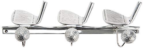 Amadeus Patère en Aluminium recyclé 3 Crochets Golf