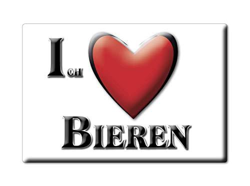 Enjoymagnets BIEREN (Nw) Magnet Deutschland Souvenir I Love Geschenkidee