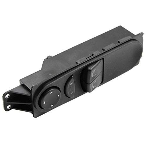 FSLLOVE FANGSHUILIN Ajuste para Mercedes Benz W639 Vito 2003-2015 Interruptor de Control de Ventanas de Potencia de automóvil Interruptor de Control Delantero Botón A6395450913