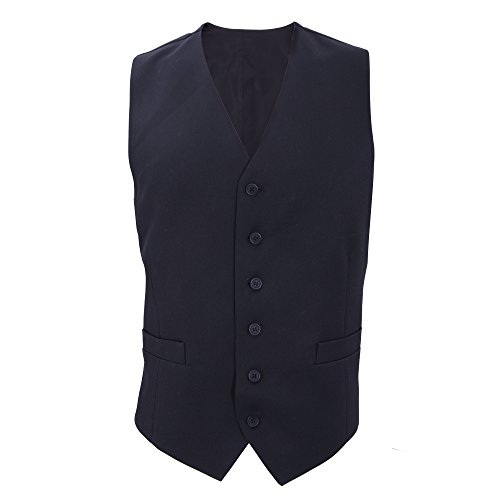 Brook Taverner Gamma - Gilet de Costume - Homme (Poitrine 102cm) (Bleu Marine)