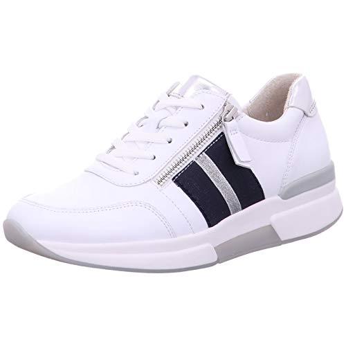 Gabor Comfort Sneaker Schnürschuh weiß 39