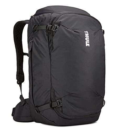Thule Landmark 70 litros de caminata al aire libre y mochila de viaje para mochileros Hombres Negro