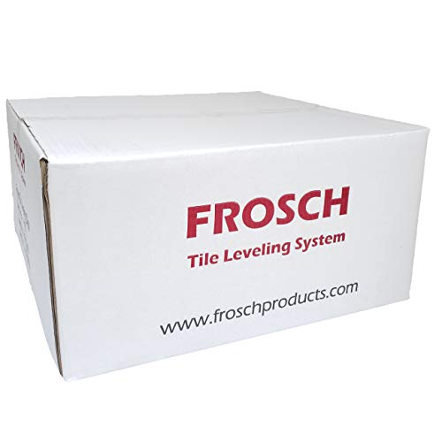 """FROSCH Tile Leveling System - 1/16"""" (1.5mm) Clips, 2000-Pack"""