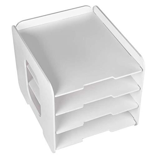 Z-SEAT DIY Grande Capacité Serre-Livres Multifonctionnel Bureau Boîte De Rangement De Bureau Rack De Données Bureau Scolaire Organiser