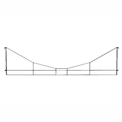 Märklin - 8924 - Modélisme Ferroviaire - Outil - Suspension Transversale - 123 mm