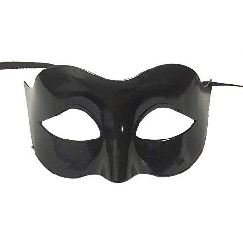 Unbekannt Sexy Gentleman Maskerade Maske Prom Maske Halloween Maskerade Party Requisiten 16.5 * 10cm Beige