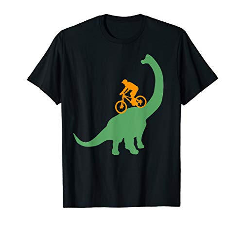 MTB Dinosaur Dino Bike Mountain Bicycle Sport Mountainbiker T-Shirt