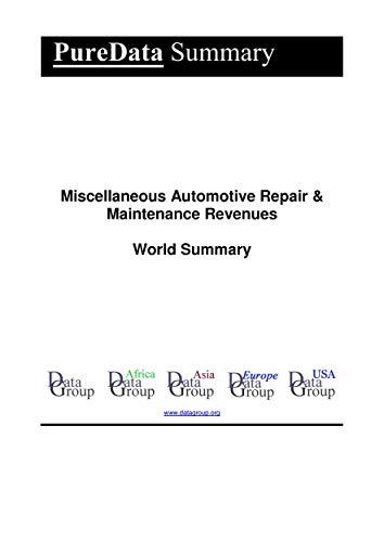 Miscellaneous Automotive Repair ...