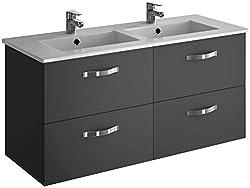 DUCHA.ES Meuble de salle de bain sans lavabo 3 tiroirs /ÉCONOMIQUE Diff/érentes couleurs